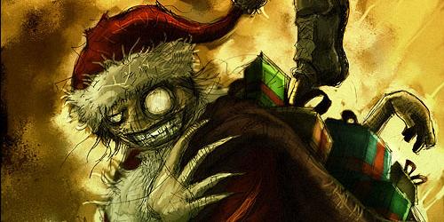 big-eyed santa