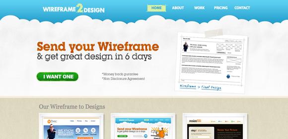 Wireframe2Design