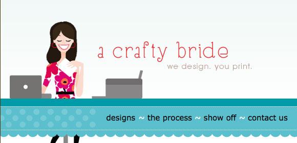 a crafty bride