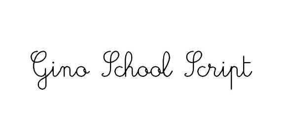 gino school script