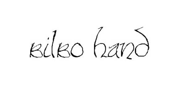 bilbo hand