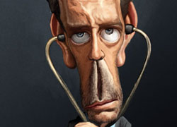 Caricatures of Some Famous Celebrities and Personalities