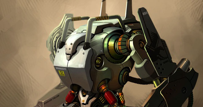 Unmanned Robotic System, U.R.S by Richard Peter Han