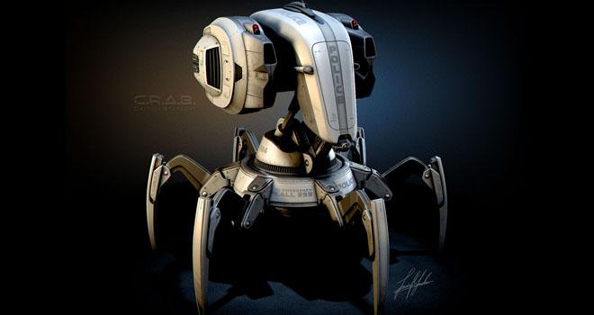 C.R.A.B. Robot, Jamie Martin