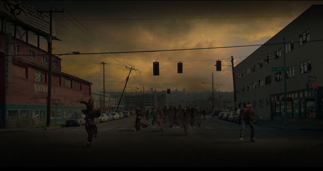 Zombie Apocalypse, Jack Stevens (2D)