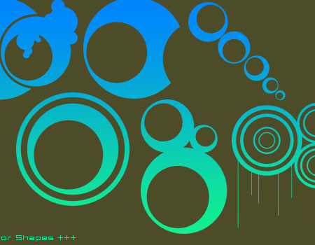 13 Vector Shapes by collapsedtoashes