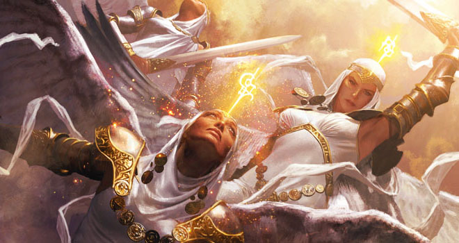 Angelic Benediction, Shards of Alara by Michael Komarck