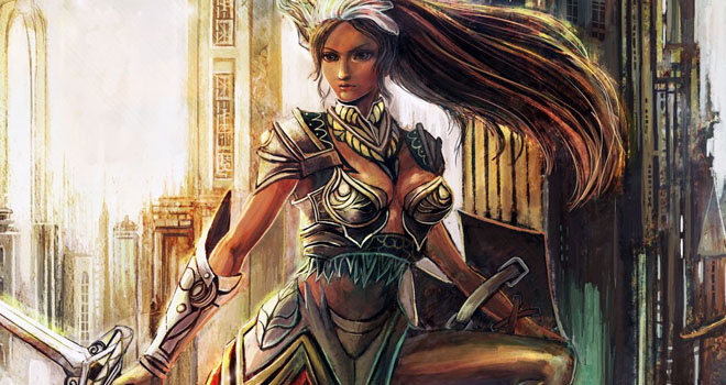 Lighting Valkyrie by Gold Copper