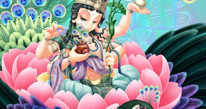 Kujyaku Myo-o by Misa Tsutsui