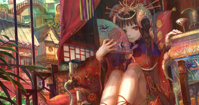Stunning Illustrations By Fuji Choko