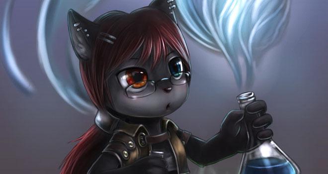 Feline Alchemist By Yee Chong