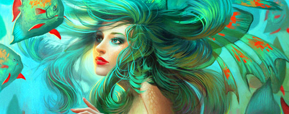 40 Alluring Mermaid Fantasy Artworks