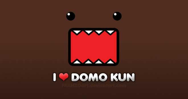 I Love Domo Kun