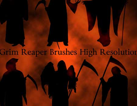 7 Grim Reaper Brushes