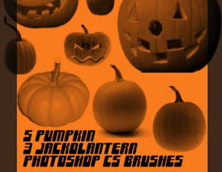 Pumpkin and Jackolantern Brush