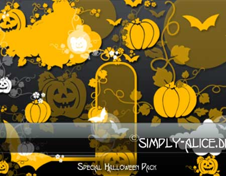 13 Halloween Brush Pack