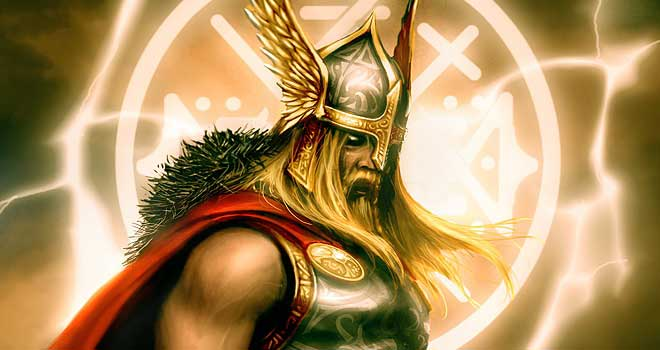 The God of Thunder, Pablo Vsicentin