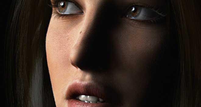 3D Close Up Portraits, David Moratilla