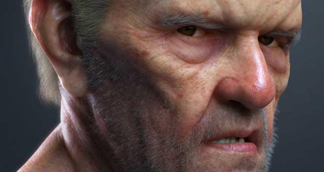 Portrait of an Old Man, Tony Reynolds