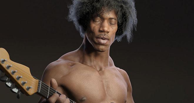 Guitarist, Gun Phil Park