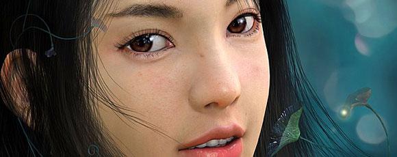 30 Amazingly Realistic 3D Human Portraits