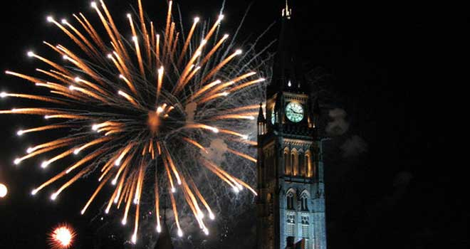 Canada Day Fireworkby ~T-Hip
