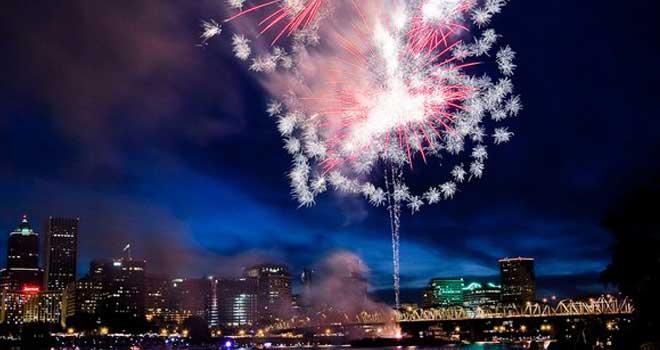 Portland Fireworks 3 by ~niel4