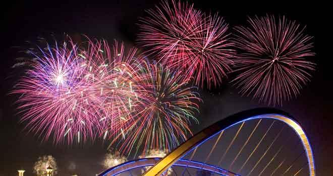 Fireworks by Rusdi Sanad