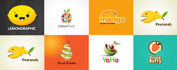30 Tasty And Colorful Fruit-Inspired Logos