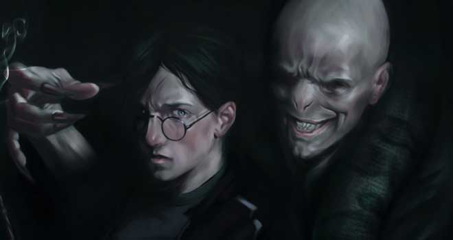 Harry Potter And The Deathly Hallows by Diego Maia