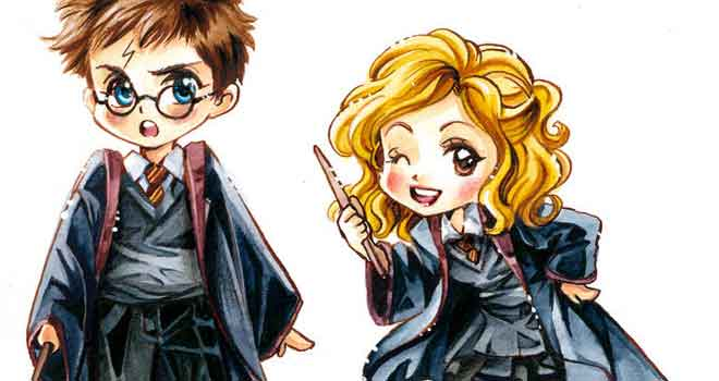 Harry Potter Chibis by *Naschi