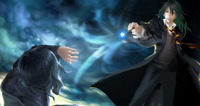 Harry Potter V - Black and Snape, Zhan Minye