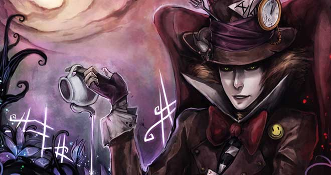 Alice In Wonderland: Hatter by =Ninjatic