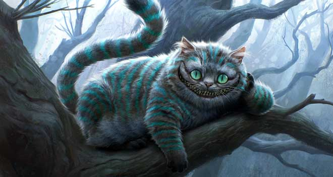Alice in Wonderland - Cheshire Cat, Michael Kutsche