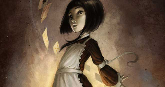 Alice in wonderland, Xavier Collette