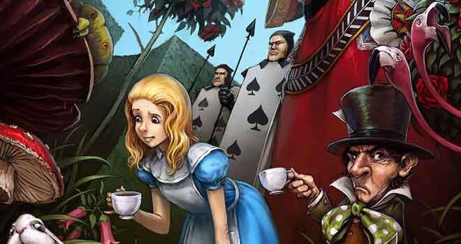 Alice in Wonderland by Luke Mancini