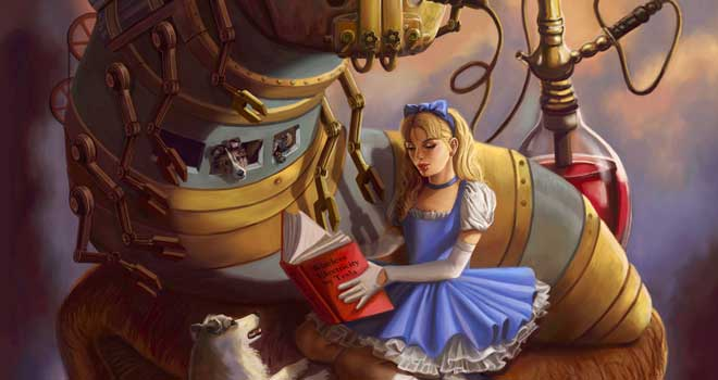 Steam Punk Alice in Wonderland, Sandra Chang-Adair