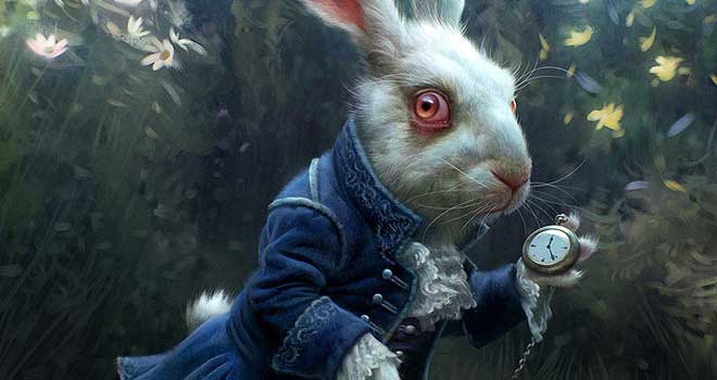Alice in Wonderland - White Rabbit, Michael Kutsche