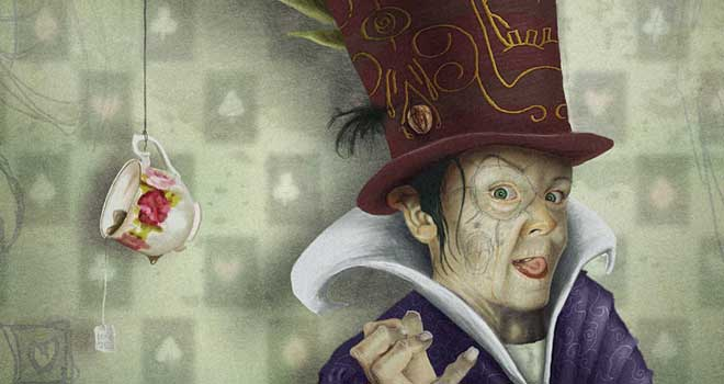 Mad Hatter, Terry Whidborne