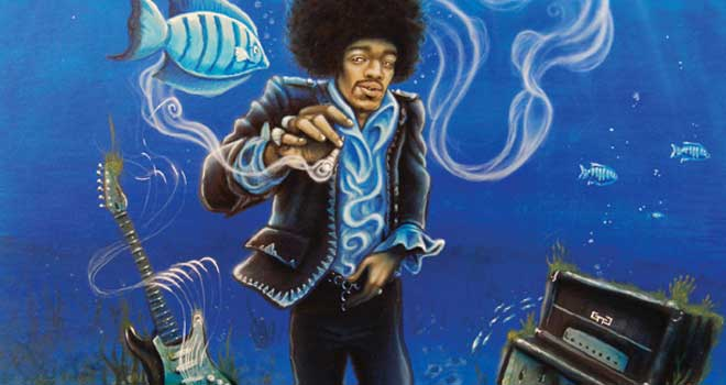 Hendrix Blue Haze, Mike Biggs