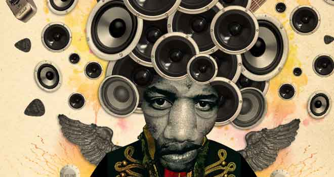 Music Series: Jimi Hendrix by ~smarvo