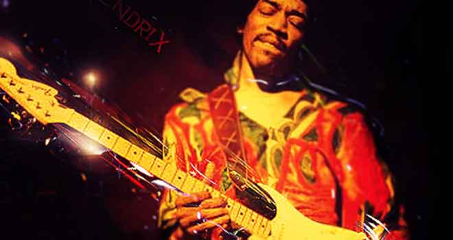 Hendrix by Jake Bearden