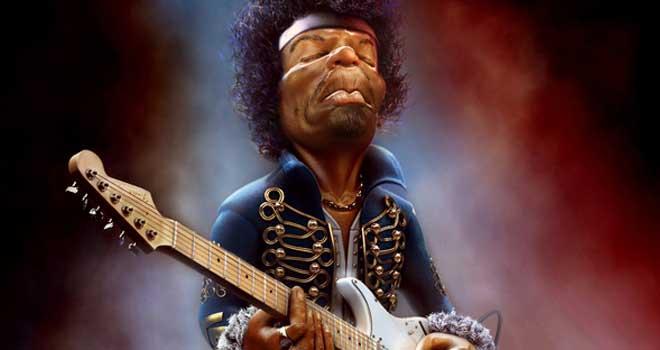 Jimi Hendrix by Marcin Klicki