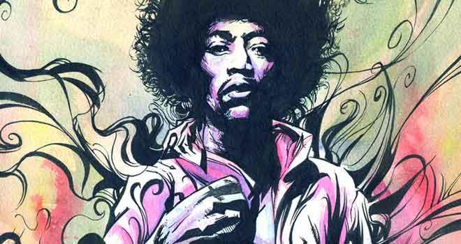 Jimi Hendrix by Validus