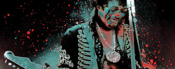 Jimi Hendrix Paintings And Artworks