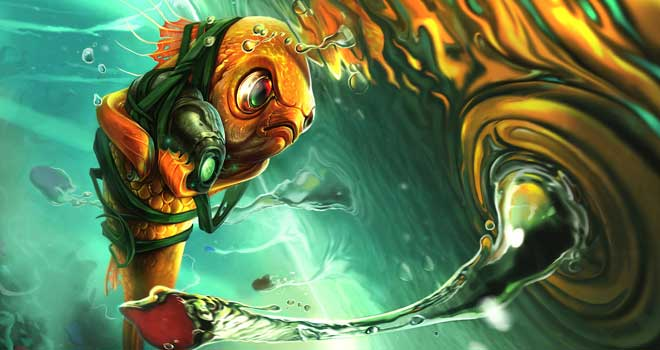 The Epic Fish, Sean Donaldson