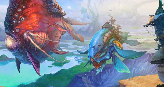 Flying Fish by AKIRAwrong