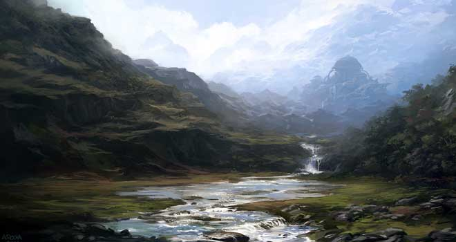 The Waterfall, Andreas Rocha