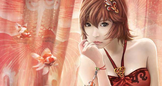 Goldfish Princess by *eat01234