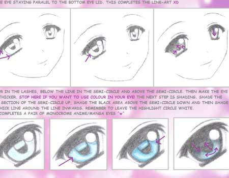 Anime Eye Tutorial